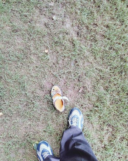 Shoes Lawn Sandal Green Mobile Photography Mobile Camera Lens Mobile Camera Club Evening Evening Light Evening Walk