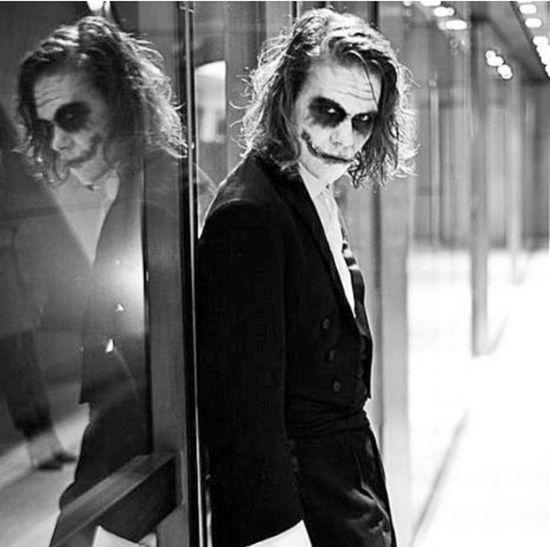 The Joker Black And White Photomontage Remember Heath Ledger