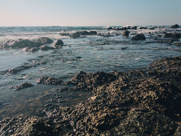 Sea Nature Beauty In Nature Wave Water Outdoors No People Beach Scenics Sky Horizon Over Water Clear Sky Day The Great Outdoors - 2017 EyeEm Awards Neighborhood Map BYOPaper!