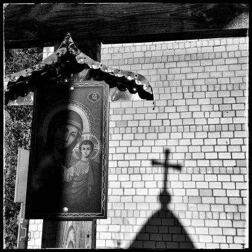 Mother n' child Chernobyl Ukraine Blu N' Yello Forbidden Zone Fine Art Photography Place Of Heart EyeEm Selects Urban Exploration Spirituality Religion EyeEm Best Shots Tadaa Community Shootermag FUJIFILM X-T1 EyeEm Best Pics Black And White Photography Black And White 100 Days Of Summer Breathing Space Eye4photography  Mix Yourself A Good Time Colour Of Life Street Photography Urban Safari Been There. The Week On EyeEm Connected By Travel Lost In The Landscape