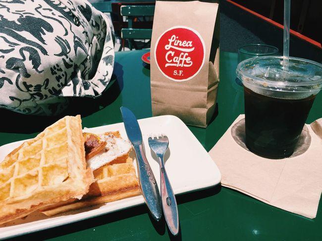 San Francisco Coffee BreakfastTime  Waffles