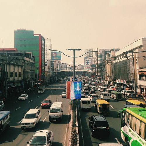 Quezon Blvd. #urban City Cityscape Sky Architecture Vehicle Land Vehicle Stories From The City