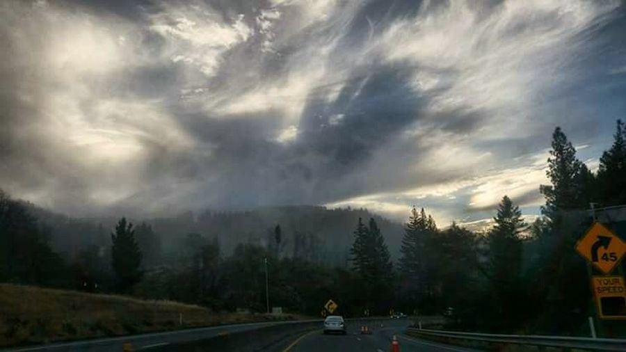 Shades Of Winter Road Outdoors Dramatic Sky Mendocino County Northern California My Drive To Work Transportation Nature Hiway Driving Mountain Winter California Dreamin Hw101 Northern California Beauty Landscapes Landscape_photography My Home