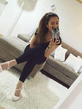 Goodnight HelloEyeEm Hey Hey Mirrorselfie Selfie ✌ Thats Me  Hello World Positive Vibes Arianagrandehairstyle Mirriorshot