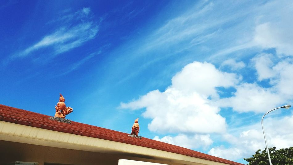 Cloud - Sky Sky Blue 沖縄 Okinawa Beauty In Nature Japan Roof Traveling Landscape 旅 Cloud