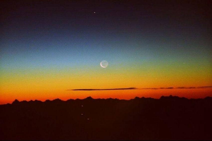 Selfmade France Moonlight Amazing Feelingfree Nature Colors Sky