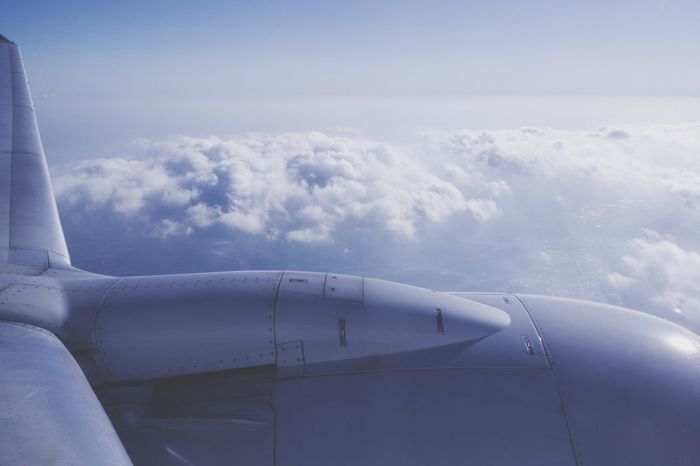 Cloud, Sky, Airplane // Trip Photo Airplane Cloud - Sky Aircraft Wing Outdoors Sky Aerial View Airport Cloud Travel Jet Engine Transportation Flying Air Vehicle Aerospace Industry Commercial Airplane No People Day Technology Fighter Plane Nature Airshow Clouds And Sky