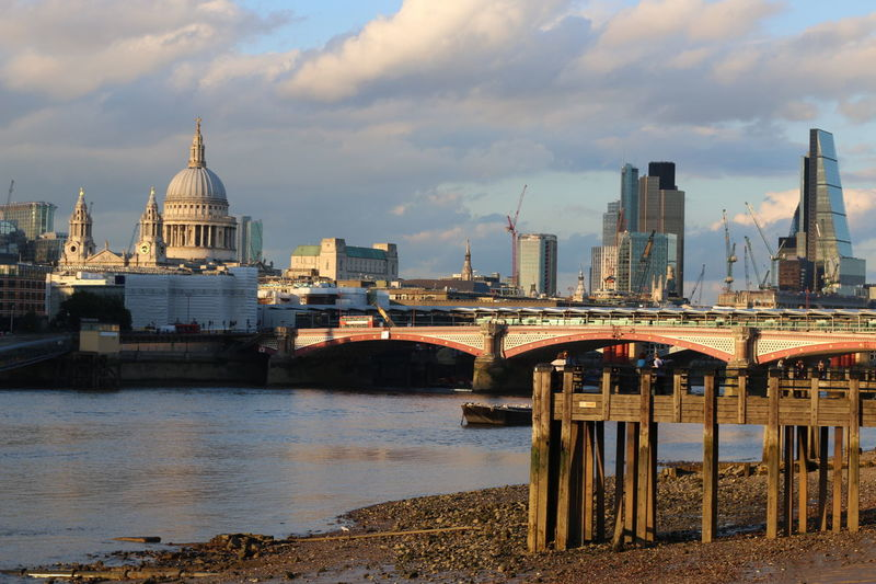 River Thames Skyline St Paul's Cathedral Architectural Detail Urban Photography Urbanphotography London Architecture Showcase June London's Buildings Building Structures London Skyline Low Tide And Lights. River Thames Sunday Afternoon Sunny Day Low Tide Revelations London Bridges Architecture Architecture_collection Dramatic Angles Takeover Contrast London Lifestyle