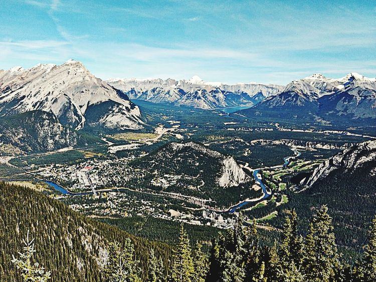 Canadian Rockies, Banff, Alberta Snow Cold Temperature Winter Mountain Nature Day Outdoors