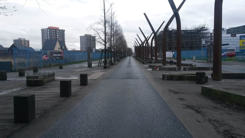 Architecture Structural Nopeople Manchester Winterwalks