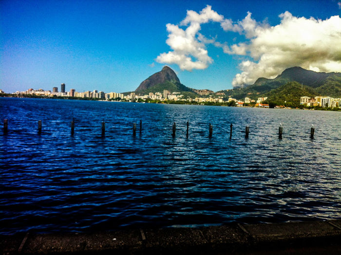 November 2014. Brazil! Saudades... Beauty In Nature Calm Distant IPhone 4 IPhoneography Lake Lakeshore Outdoors Pond Postprocessing Reflection Rippled River Scenics Standing Water Tranquil Scene Tranquility Tree Tropical Climate Vacation Vignette Water Waterfront