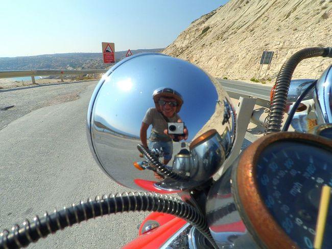 The place where Godess Aphrodite(Αφροδιτη ) Was Born Motorbike Selfie Actioncam Amazing Places Trip Traveling