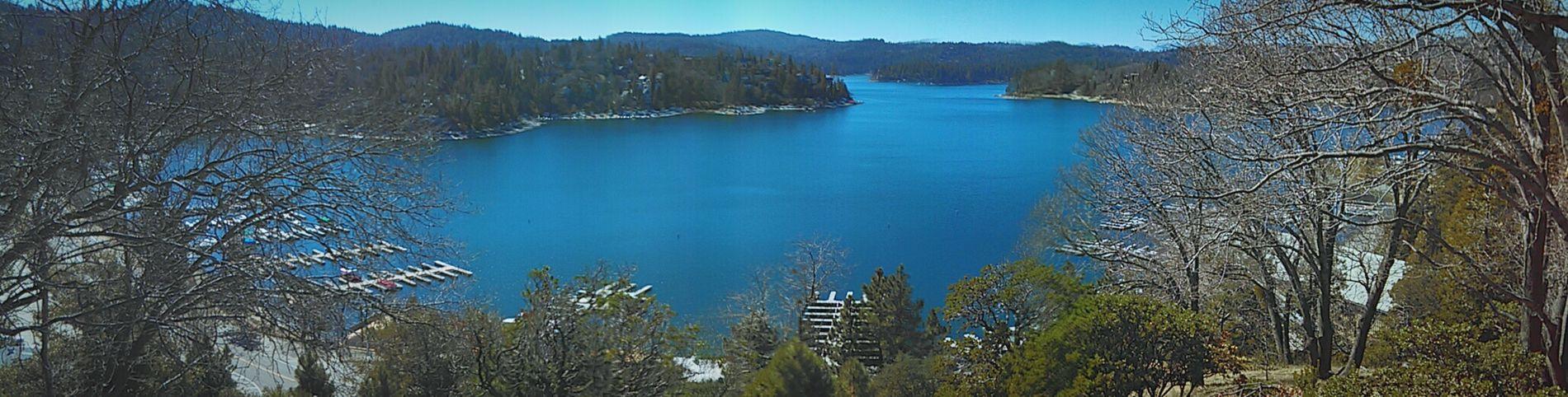 View Lake Nature Simplicity