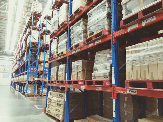 shelf Warehouse Shelf Distribution Warehouse Storage Compartment