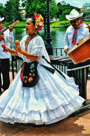 Mexico Pavillion—Epcot, Disney World Disney Mexico Epcot Dancing Singing . Thetraveler-2015EyemAwards