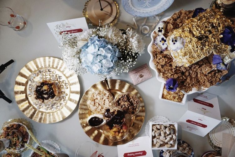 Beautiful food party;) Sweet Food Food And Drink Table Food Directly Above Indoors  High Angle View Still Life No People Dessert Choice Variation Sweet Indulgence Baked Freshness Temptation Ready-to-eat Large Group Of Objects Container