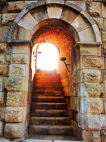 Mérida,Spain Tourism Steps And Staircases Architecture Arch History Stairs No People Architecture Cultures Staircase The Way Forward Steps Arts Culture And Entertainment