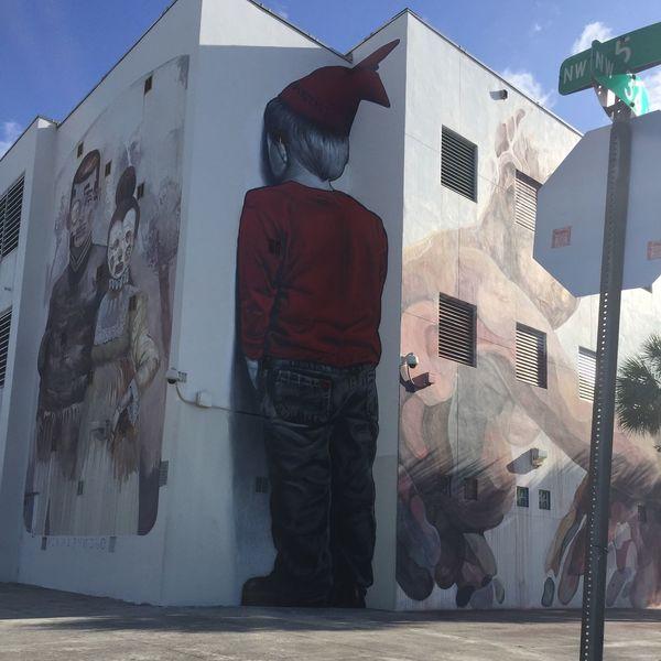 Wynwood wall. No one puts baby on the corner😡😁😜
