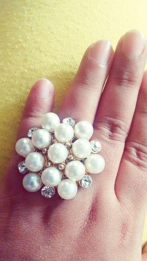 Moonsnstars!! Rings Diamonds Pearls<3 Vintage Golf Bag