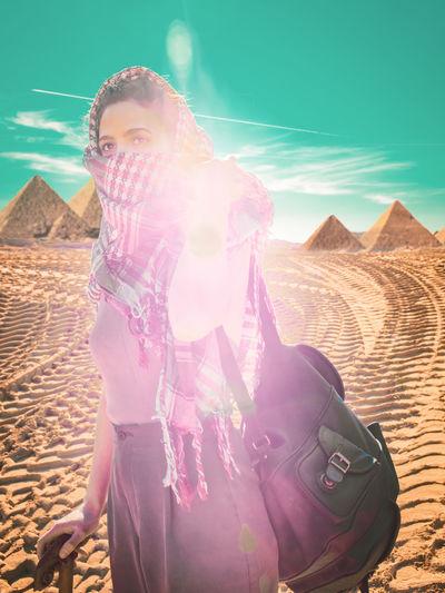 Arabic Woman in