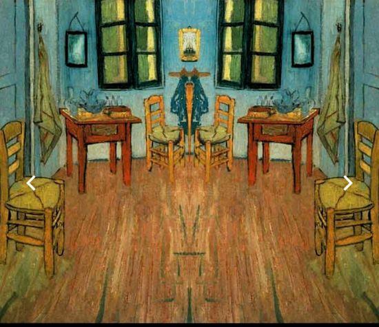 Mirror Image Van Gogh Vincent Van Gogh Vincent Van Gogh World