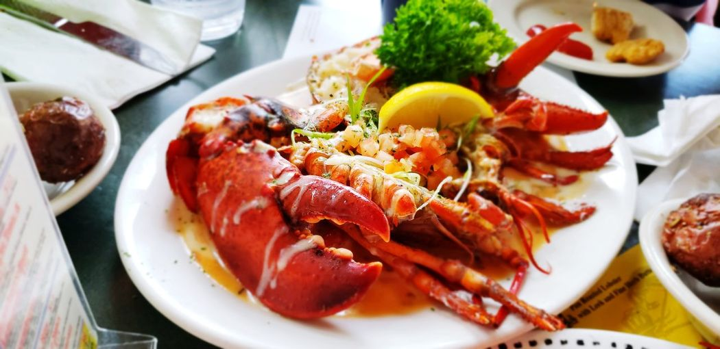 Claw Food Foodporn Lobsters Seafoods Plate Gourmet Appetizer Meat Close-up Food And Drink Serving Dish Food State Main Course Gravy Food Styling Sauce Cooked Dish