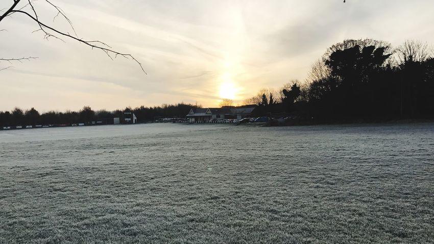 Frosty Frosty Mornings Oulton Leeds