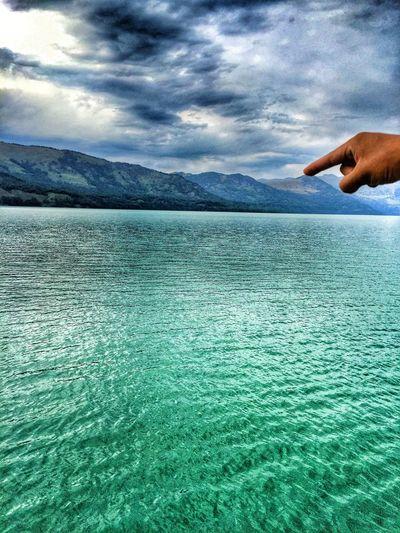 喀纳斯的湖水