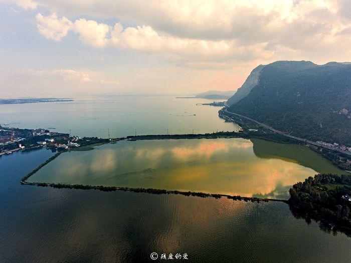 昆明滇池海埂大坝