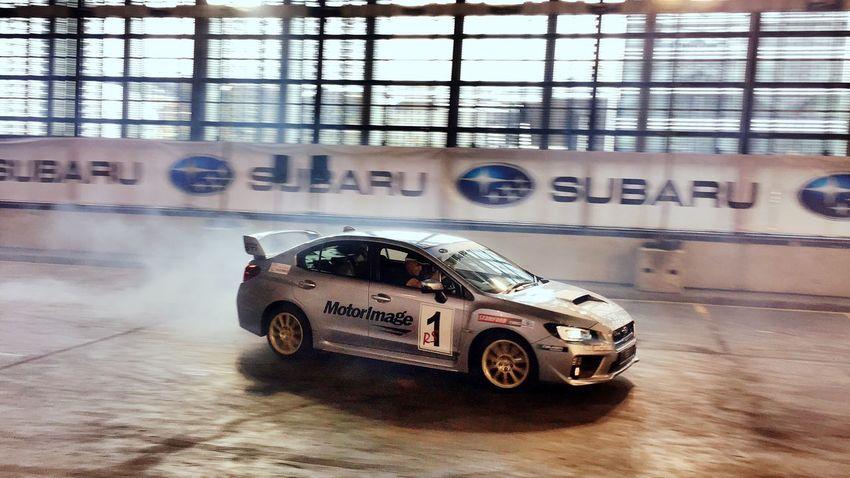 Subaru Subaru Wrx Stunt Carswithoutlimits Motorshow Car Mode Of Transport