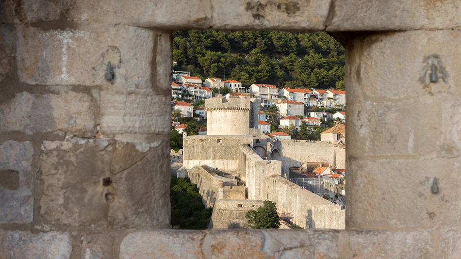 #croatia #dubrovnik Ancient Architecture Building Exterior Built Structure City Fort History Old Ruin Outdoors