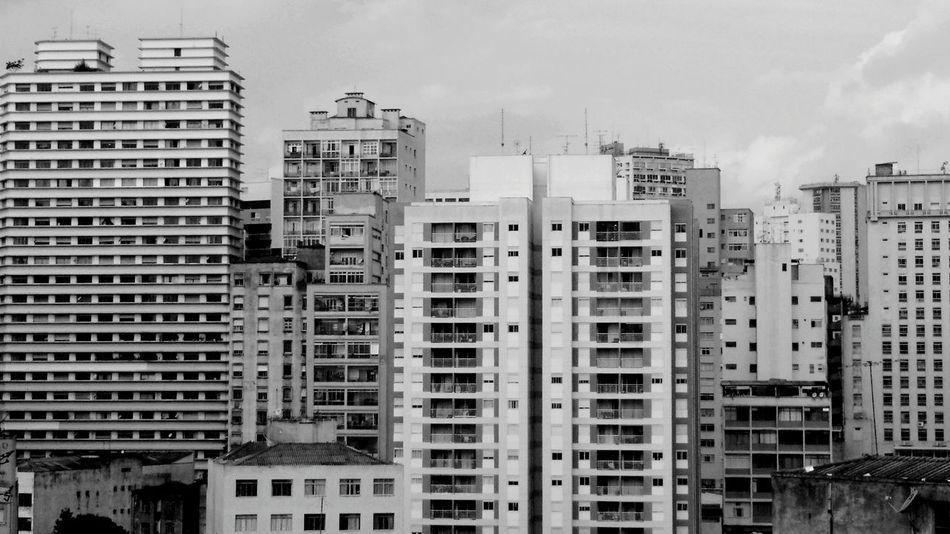 Building Prédio  São Paulo Cidade Cinza