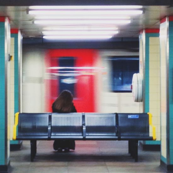 An oldie from the tube London Underground The Street Photographer - 2014 EyeEm Awards Streetphotography IPhone
