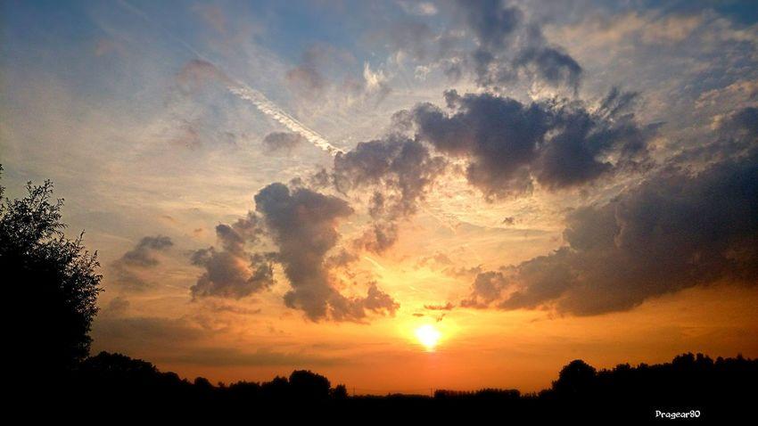 Sunset Cloudporn Beautiful Colours.... EyeEm Best Shots