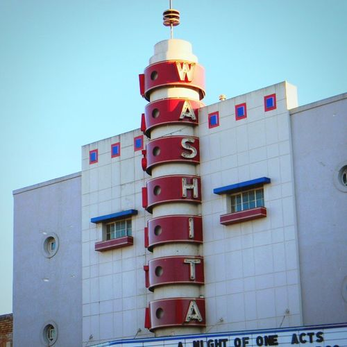 The historic Washita theater