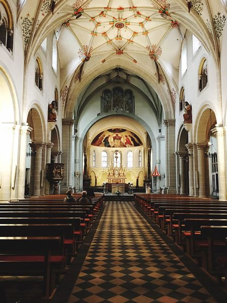 Church Germany Deutschland Koblenz Building Built Structure Kirche Architecture Colors Colorful Couch Travelling Tourist