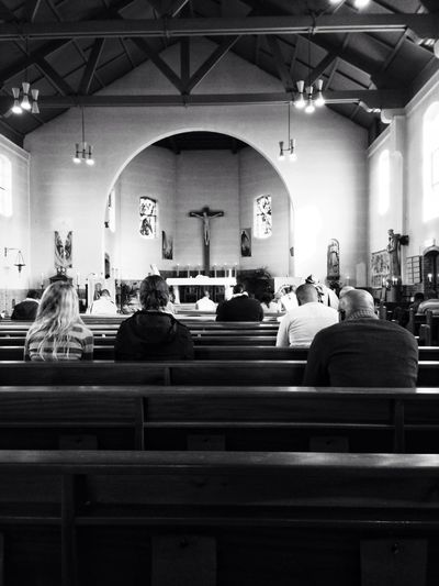 Ash Wednesday mass Blackandwhite