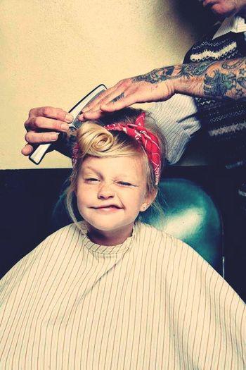 Hairdresser Lilsunshine Prettylilgirl Smile Onethingforcharlie Cool Tatoos