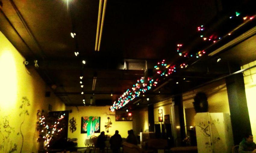 Sushi Restaurant lights Christmas Sushi Decoration