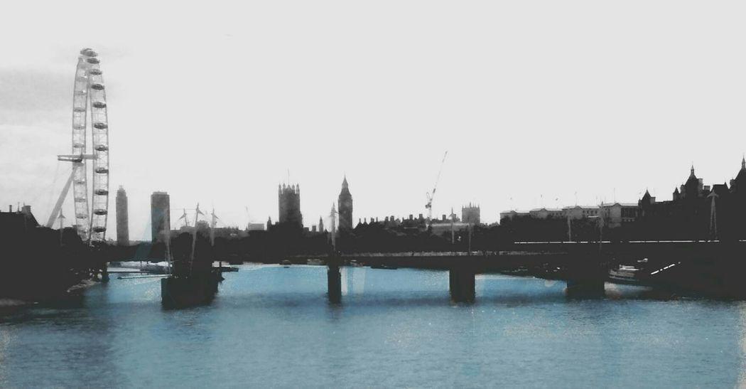 I Love My City London LondonEye