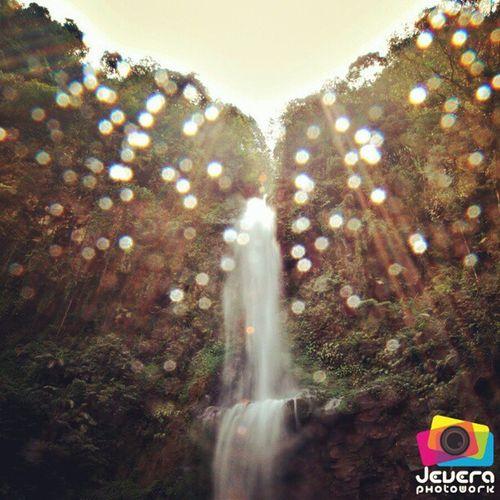 Waterfall Flare (Curug Cipendok, Purwokerto) Waterfall Flare Curug Cipendok AirTerjun Landscape Nature Banyumas Purwokero CentralJava Indonesia Travel Travelling