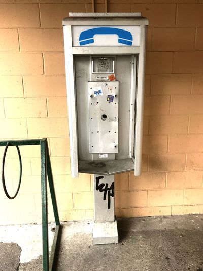 Historical Artifacts Outdated Tech Antique Old History Architecture Phone Booth No People Day Fuse Box Outdoors Close-up