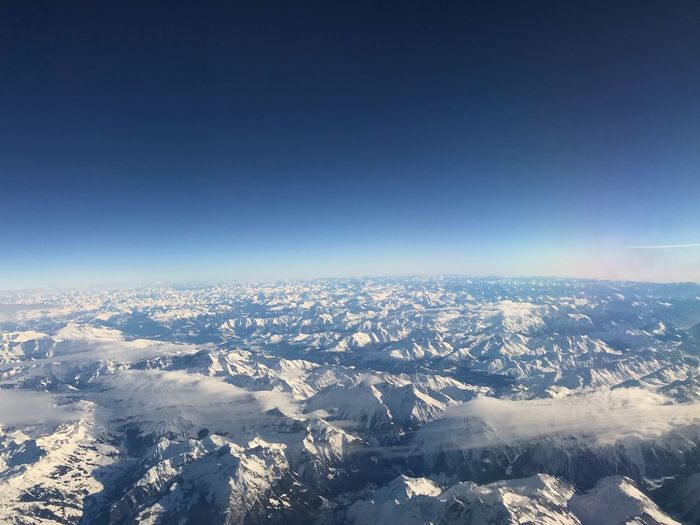 The Alps from the Sky Plane Birdeyeview Glacier Ice Mountain View Mountain Alps Nature Beauty In Nature Cold Temperature Scenics Winter Tranquility Tranquil Scene