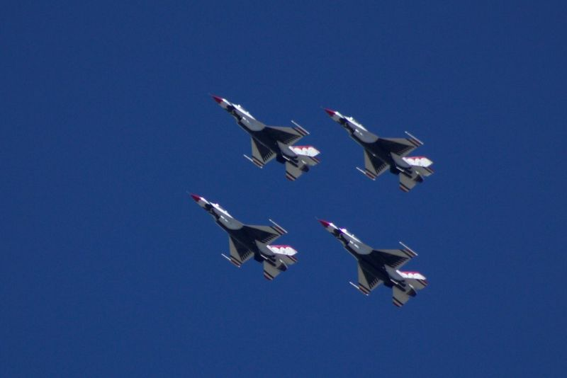 Inflight Thunderbirds Thunderbirds, Air Show, Aviation Hill AFB Planes Aviation Beautifully Organized