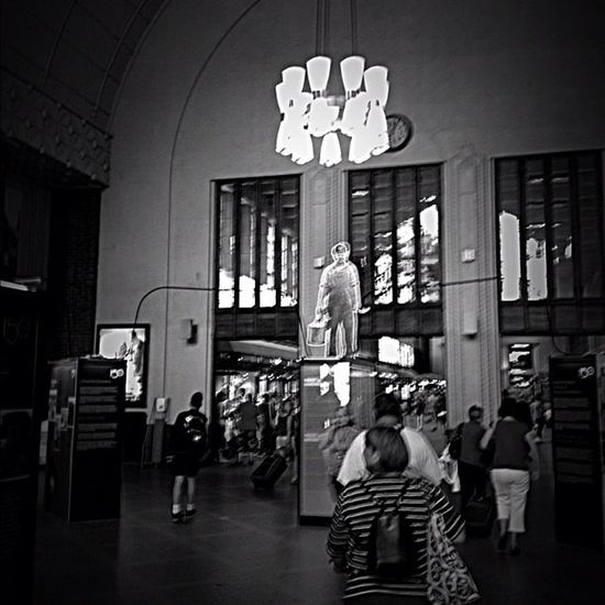 Blackandwhite Helsinki Centralstation Old And Beautiful