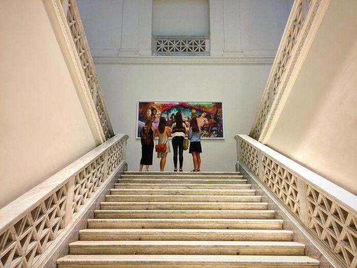 David Lachapelle Art Museum Back Girls Rome Italy
