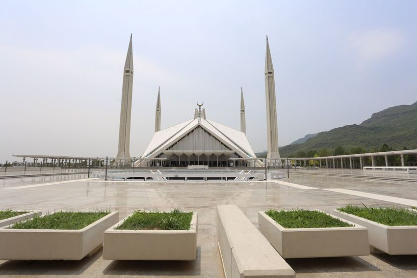 Wide just got wider Check This Out Taking Photos FaisalMosque Faisal Mosque Wide Angle Wideangle Islamic Architecture Mosque IslamabadTheBeautiful Pakistan Prayers Canon 6D