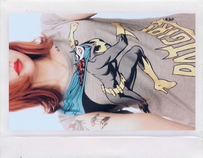 ?? Batgirl Redhead Girl Model