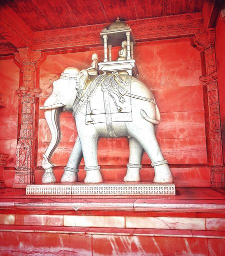 Art And Craft Statue No People Sculpture Low Angle View Built Structure Architecture Outdoors Red Elephant Elephant Statue Elephant Stone Carving Elephant Stone Elephant Built Structure Ancient Architecture Ancient Statue Temple Architecture. Jain_temple_india Beautiful Carving Carvings From One Stone Elephant Grunge