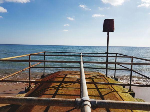 Beach EyeEm Selects Beach Life Water Sea Sailing Ship Beach Boat Deck Nautical Vessel Sunlight Sky Horizon Over Water Pier Harbor